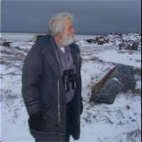 Chuck on Hudson Bay