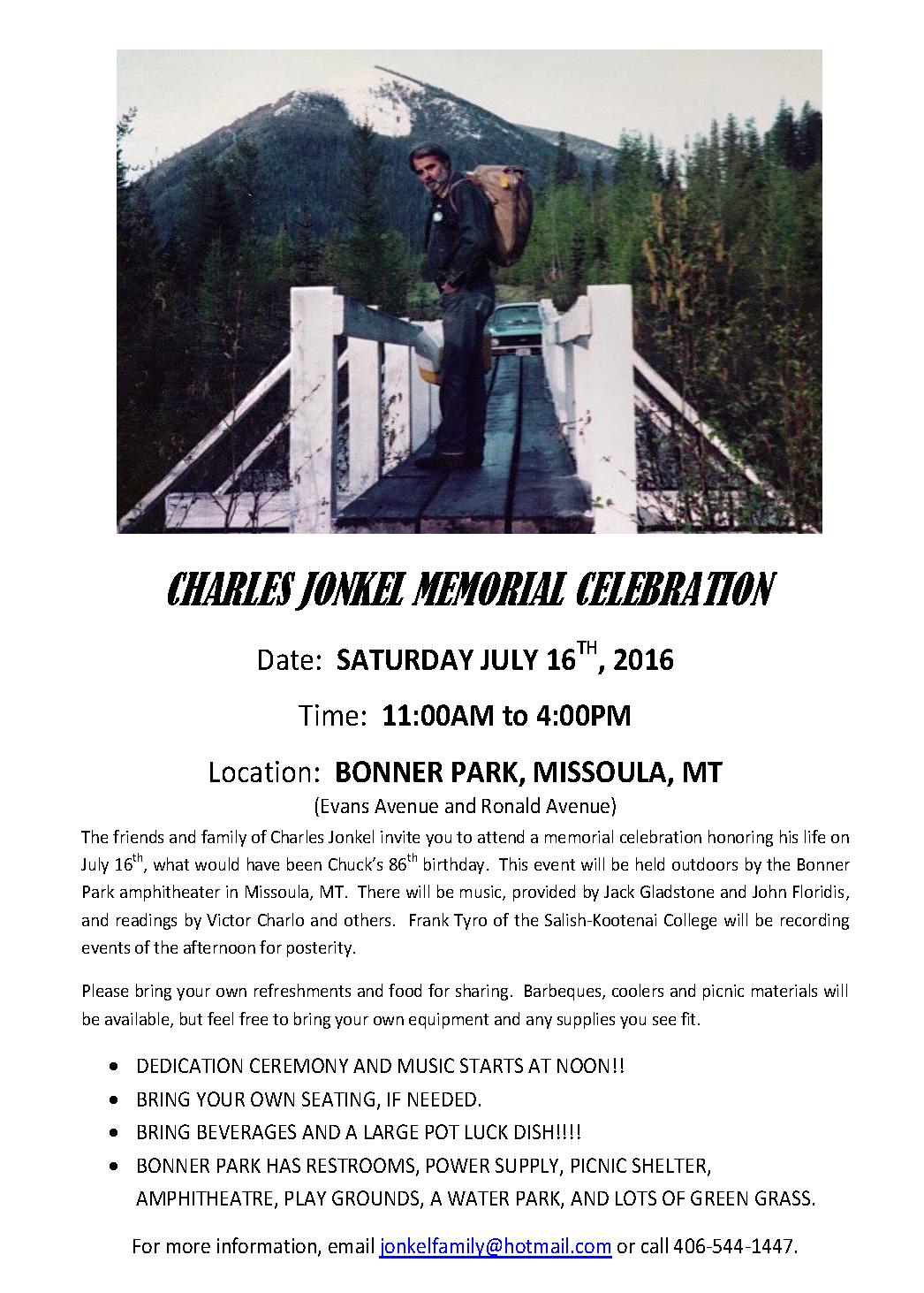 Final Memorial Flyer